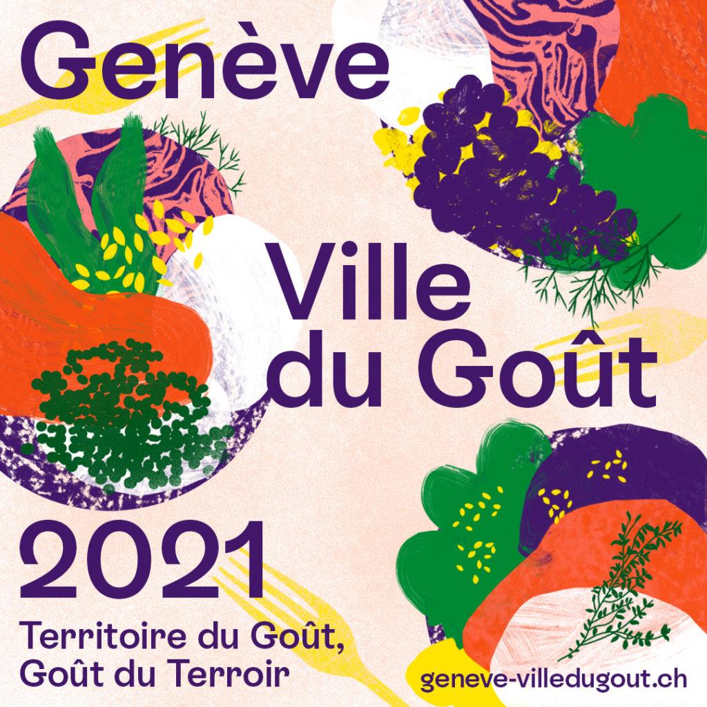 Genève Ville du gout logo carré